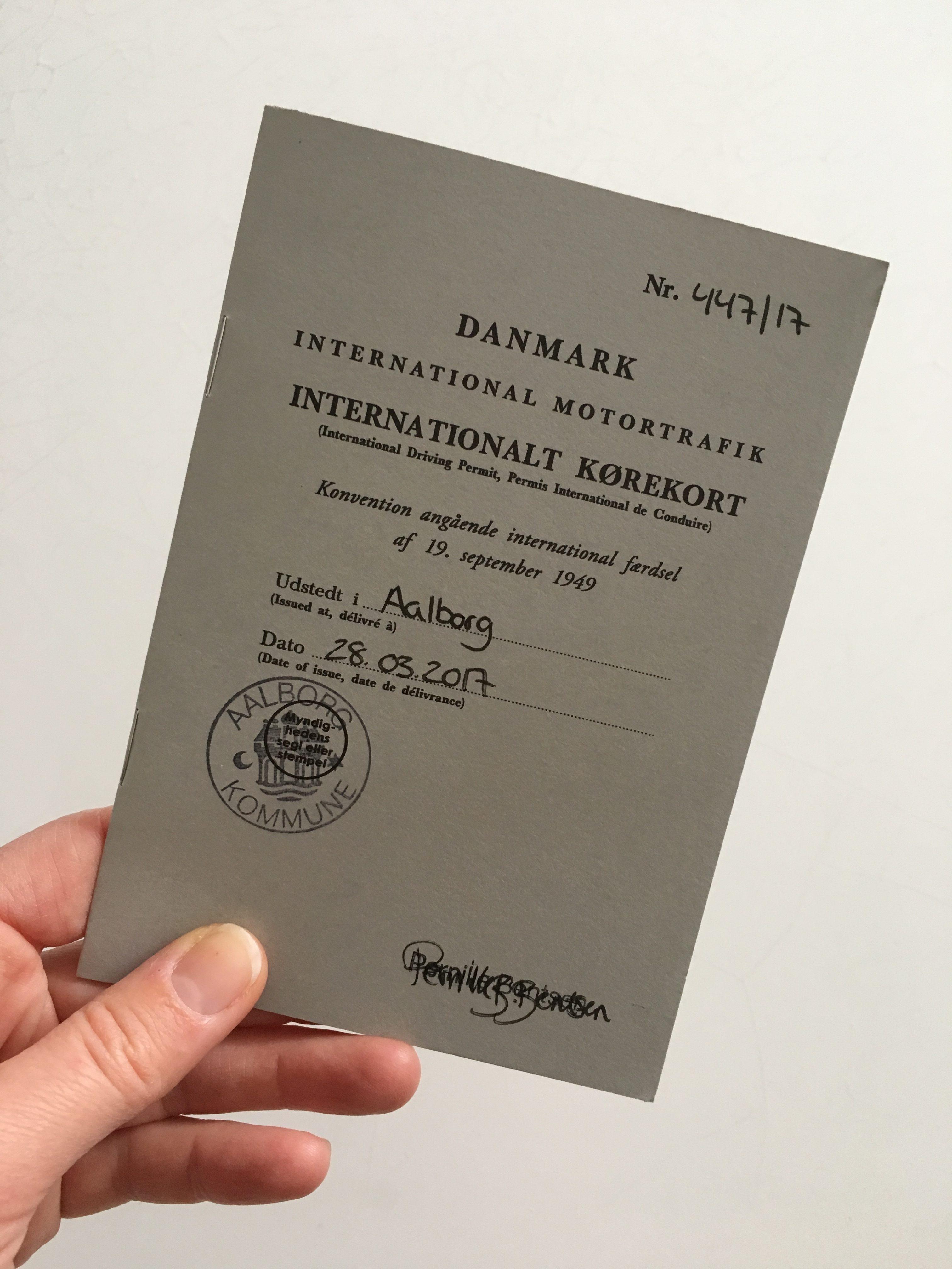 internationalt kørekort australien